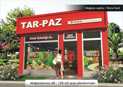 TARİŞ TAR-PAZ Ürün Satış Mağazaları Bayilik Franchising Veriyor